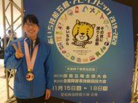 本校学生が技能五輪全国大会で銅賞受賞